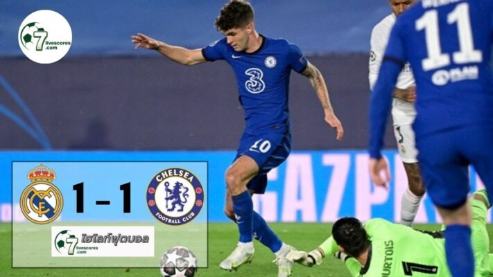 highlight CHAMPIONS LEAGUE Real Madrid - Chelsea 26-04-2021