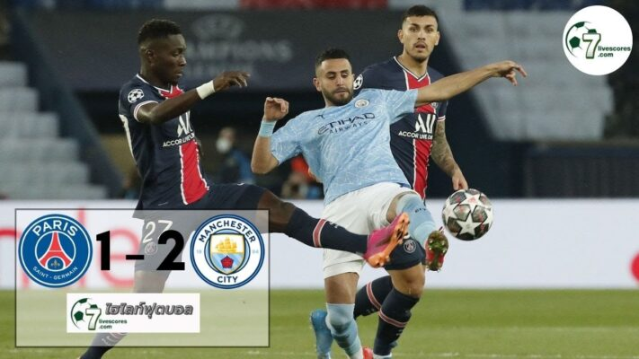 highlight Champions League Paris Saint Germain - Manchester City 28-04-2021