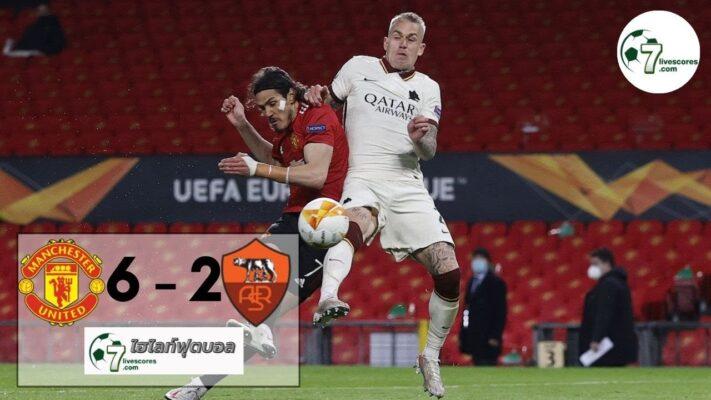 highlight Europa League Manchester United - Roma 29-04-2021