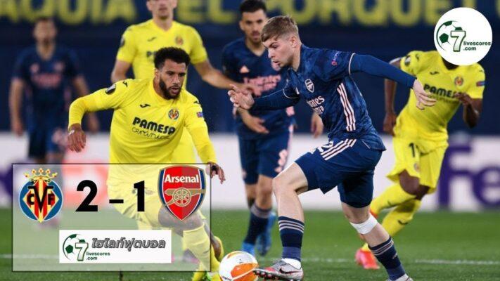 highlight Europa League Villarreal - Arsenal 29-04-2021