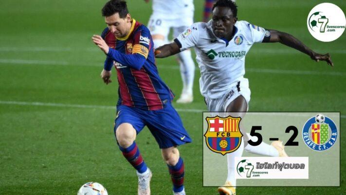 highlight la liga Barcelona – Getafe 22-04-2021