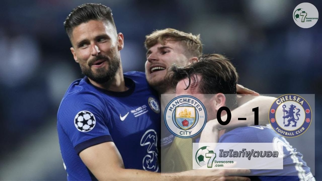 Highlight Champions League Manchester City - Chelsea 29 -05-2021