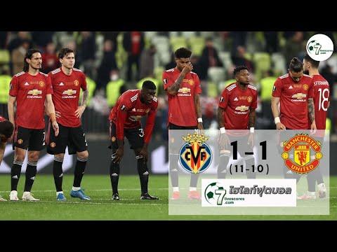 Highlight Europa League Villarreal - Manchester United 26-05-2021