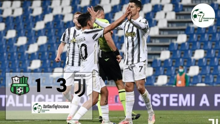 Highlight Italian Serie A Sassuolo - Juventus 12-05-2021