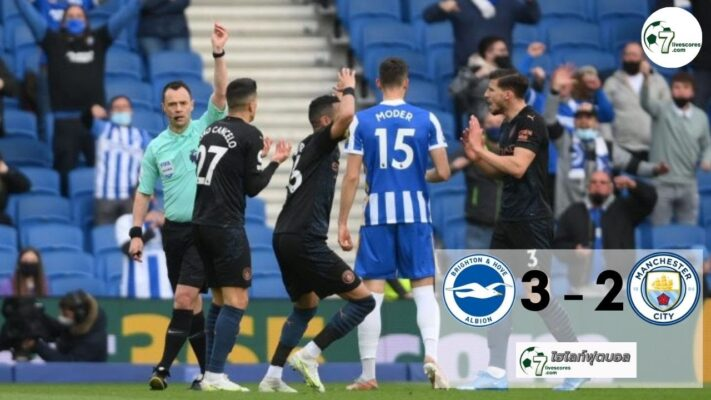 Highlight premier Brighton & Hove Albion - Manchester City 18-05-2021