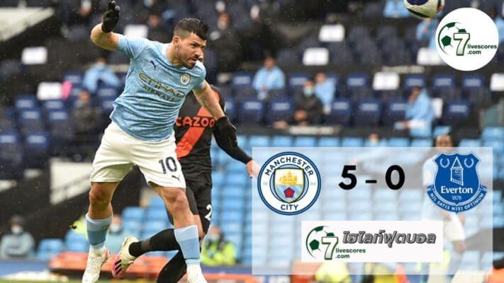 Highlight premier Manchester City - Everton 23-05-2021