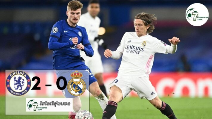 highlight Champions League Chelsea - Real Madrid 05-05-2021