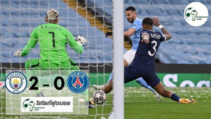 highlight Champions League Manchester City - Paris Saint Germain 04-05-2021