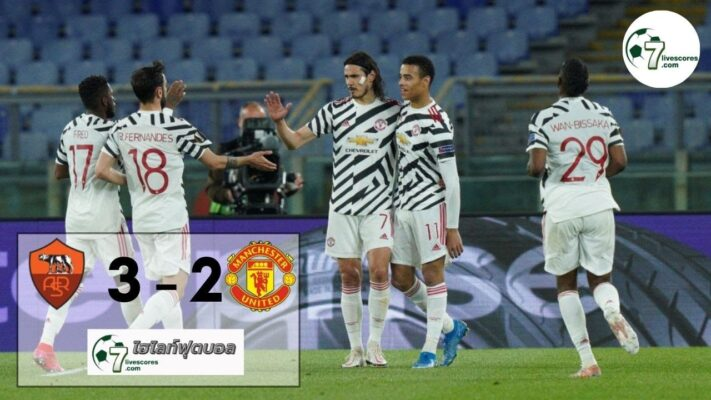 highlight Europa League Roma - Manchester United 06-05-2021