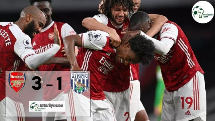 highlight premier Arsenal - West Bromwich Albion 09-05-2021