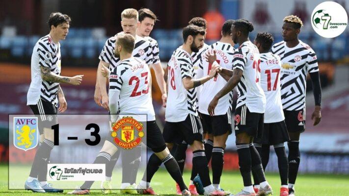 highlight premier Aston Villa - Manchester United 09-05-2021