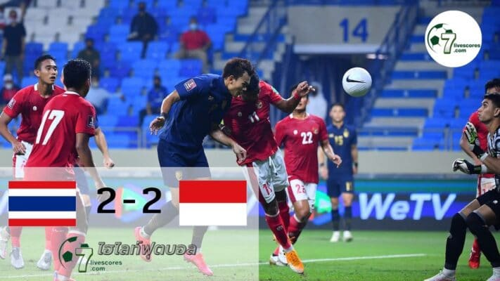 Highlight World Cup Asia Zone Thailand - Indonesia 03-06-2021