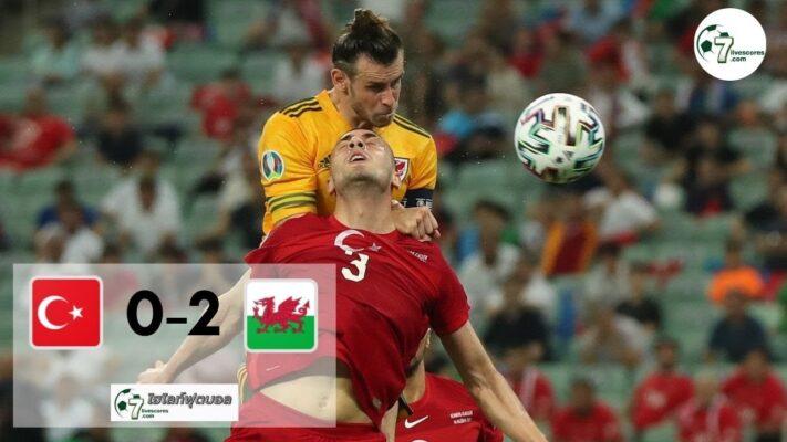 Highlight E uro 2020 Turkey - Wales 15-06-2021