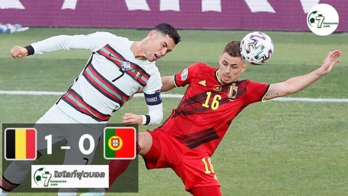 Highlight Euro 2020 Belgium - Portugal 27-06-2021