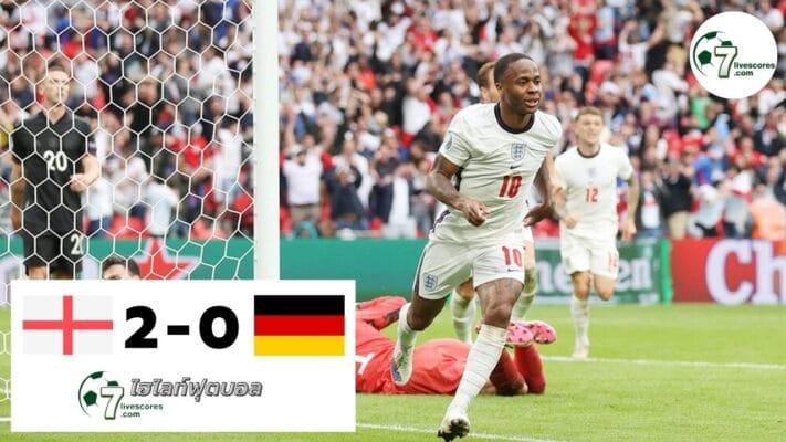 Highlight Euro 2020 England - Germany 29-06-2021