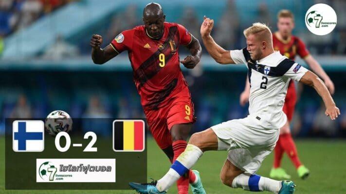 Highlight Euro 2020 Finland - Belgium 21-06-2021
