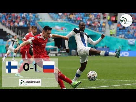 Highlight Euro 2020 Finland - Russia 15-06-2021
