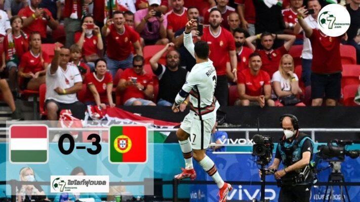 Highlight Euro 2020 Hungary - Portugal 15-06-2021