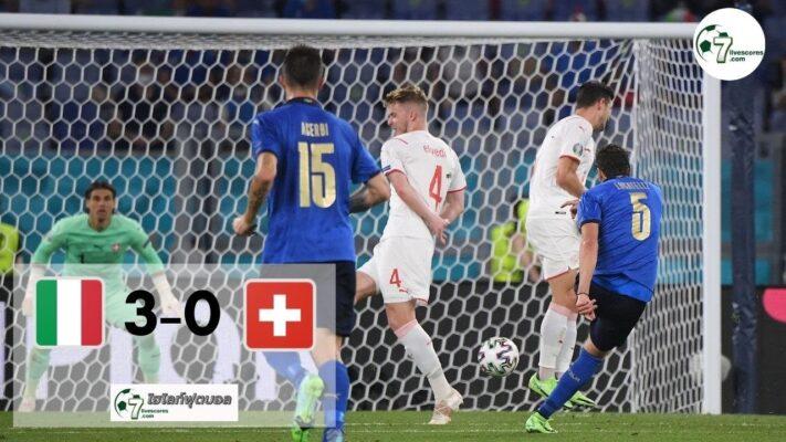 Highlight Euro 2020 Italy - Switzerland 15-06-2021