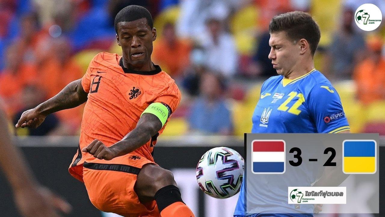 Highlight Euro 2020 Netherlands - Ukraine 13-06-2021