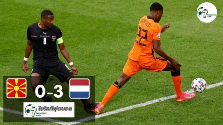 Highlight Euro 2020 North Macedonia - Netherlands 21-06-2021