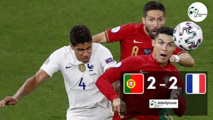 Highlight Euro 2020 Portugal - France 23-06-2021