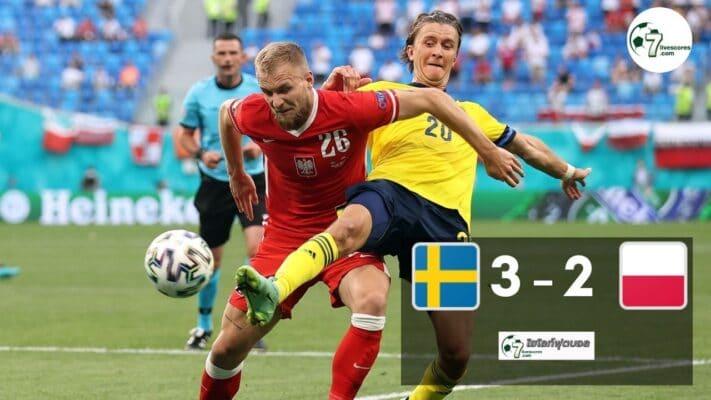 Highlight Euro 2020 Sweden - Poland 23-06-2021