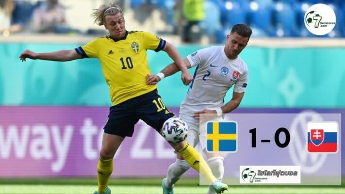 Highlight Euro 2020 Sweden - Slovakia 18-06-2021
