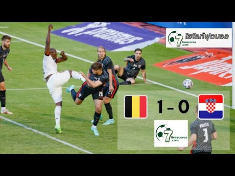 Highlight International Friendlies Belgium - Croatia 06-06-2021