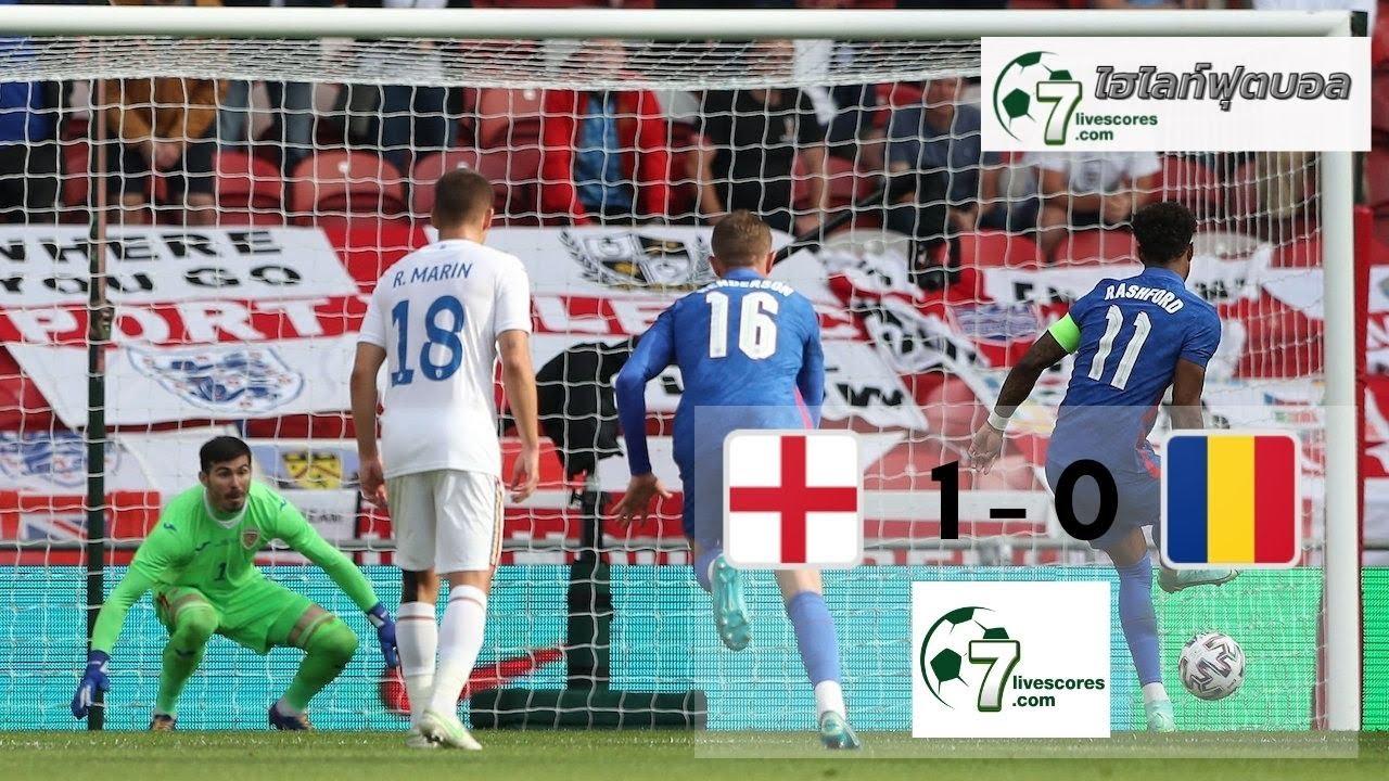 Highlight International Friendlies England - Romania 06-06-2021