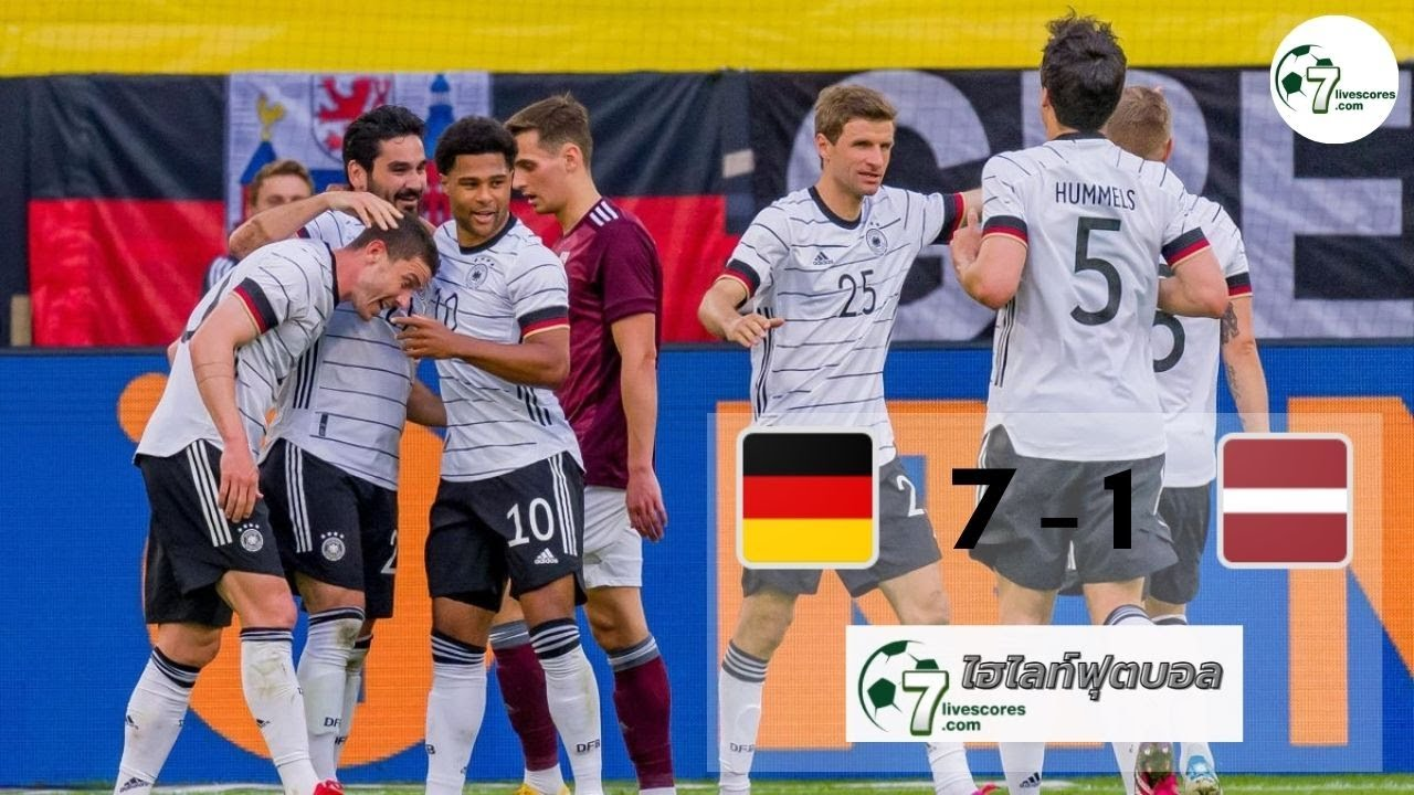 Highlight International Friendlies Germany - Latvia 07-06-2021