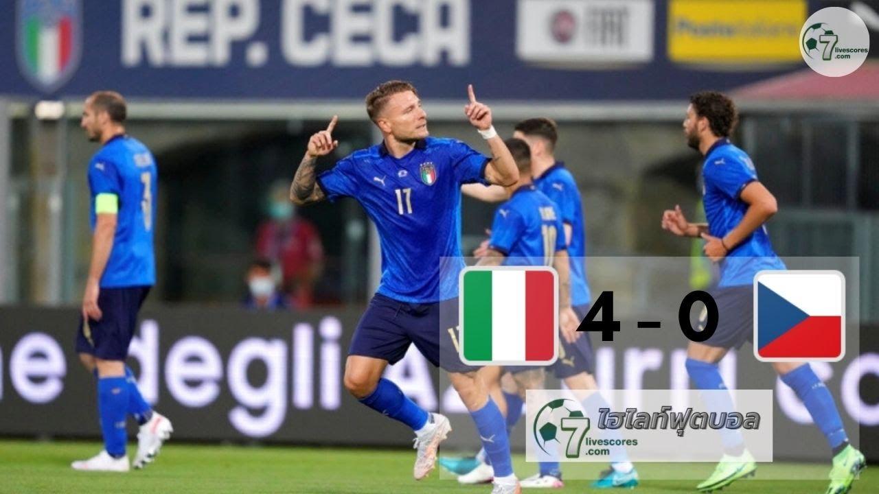 Highlight International Friendlies Italy - Czech Republic 04-06-2021