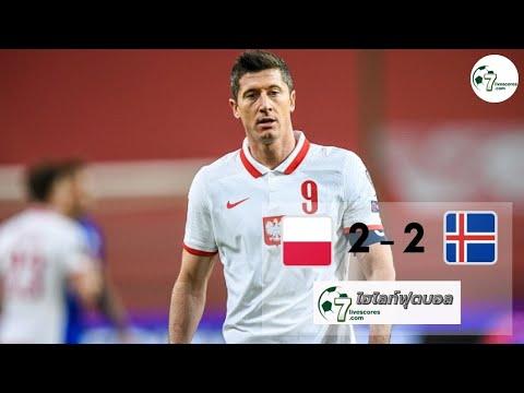 Highlight International Friendlies Poland - Iceland 08-06-2021