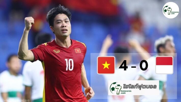 Highlight World Cup Asia Zone Vietnam - Indonesia 07-06-2021