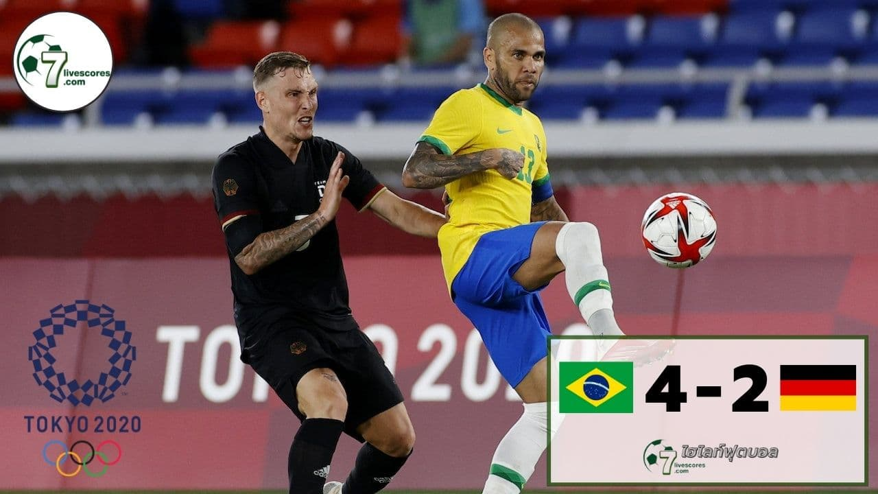 Highlight Olympic Brazil - Germany 22-07-2021