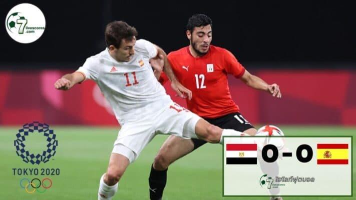 Highlight Olympic Egypt- Spain 22-07-2021