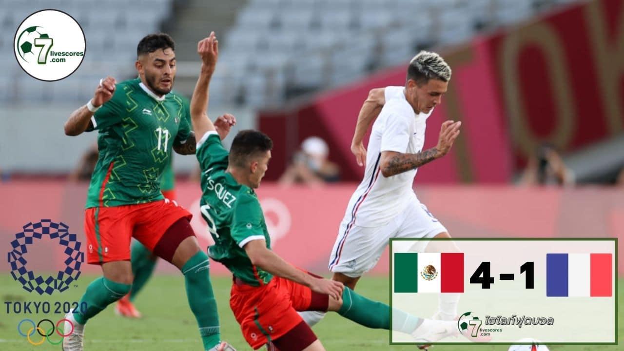 Highlight Olympic Mexico - France 22-07-2021