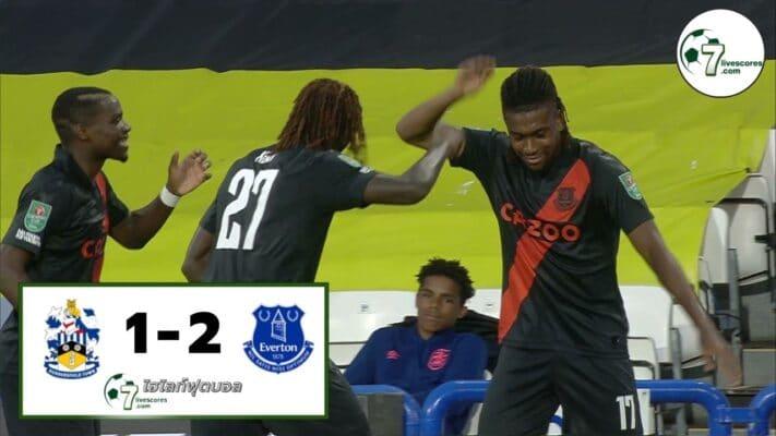 Highlight Carabao Cup Huddersfield Town - Everton 24-08-2021