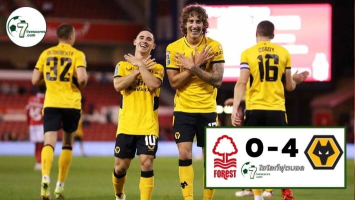 Highlight Carabao Cup Nottingham Forest - Wolverhampton Wanderers