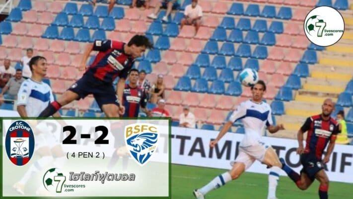 Highlight Coppa Italia Crotone 2-2 Brescia 16-08-2021