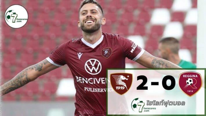 Highlight Coppa Italia Salernitana 2-0 Reggina 16-08-2021