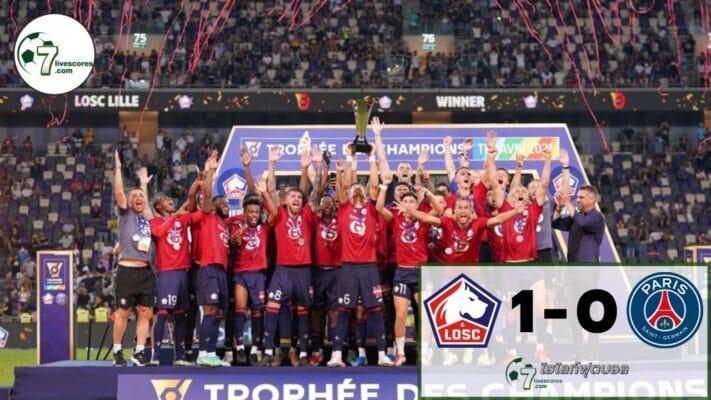 Highlight French Super Cup Lille - Paris Saint-Germain 010864