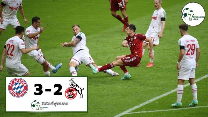 Highlight Germany Bundesliga Bayern München - FC Köln 22-08-2021