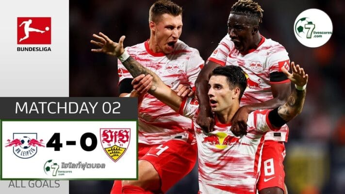 Highlight Germany Bundesliga RB Leipzig - VfB Stuttgart 20-08-2021