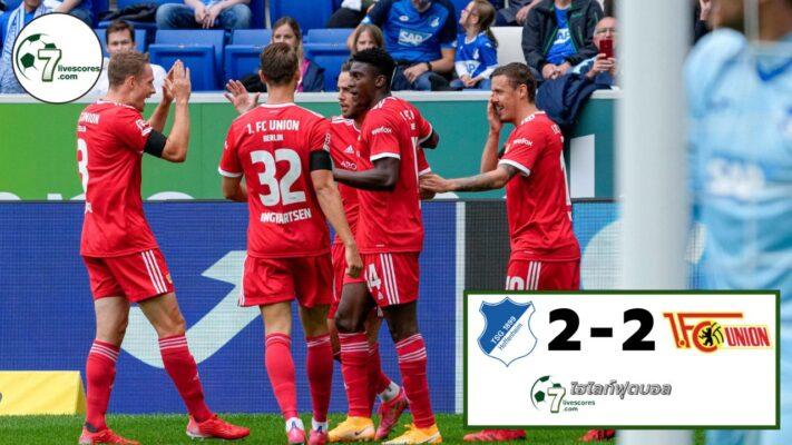 Highlight Germany Bundesliga TSG Hoffenheim - Union Berlin 22-08-2021
