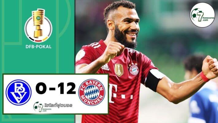 Highlight Germany DFB-Pokal Bremer SV - Bayern München 25-08-2021