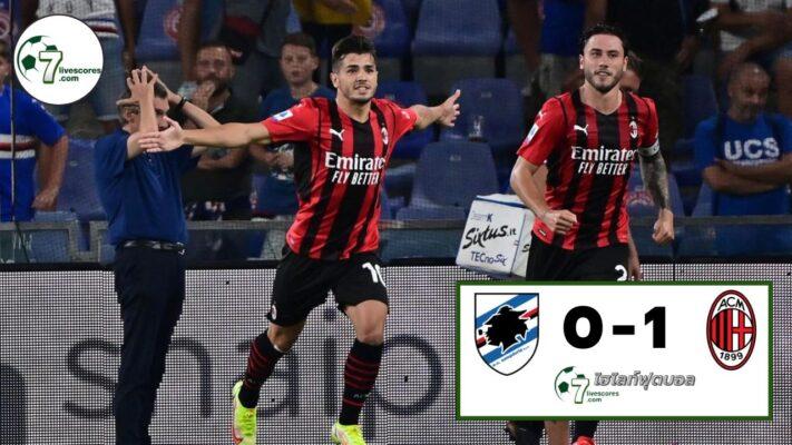 Highlight Italian Serie A Sampdoria - Milan 23-08-2021