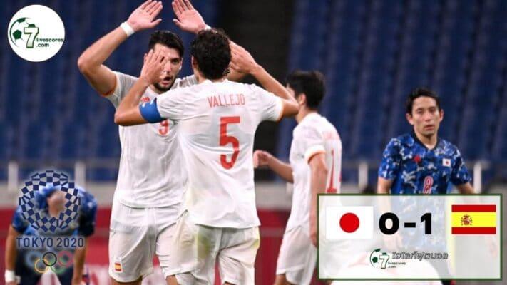 Highlight Olympic Japan - Spain 03-08-2021