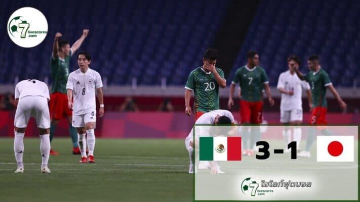 Highlight Olympic Mexico - Japan 05-08-2021