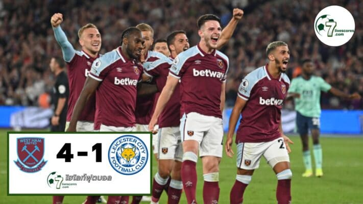 Highlight Premier League West Ham United - Leicester City 23-08-2021